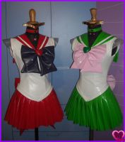 Mars and Jupiter sailor outfit by Ivycosplay