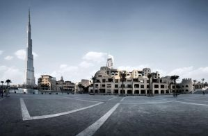 Panoramic Downtown by almiller