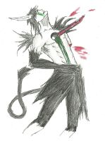 Impaled-Ulquiorra by DPPHAN
