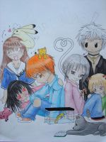 Fruits Basket Gang by sapphiresky1410