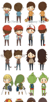 Smosh Characters - Part.1 (of ?) by pbpiya