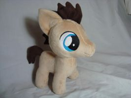 Dr Whooves colt plush by PlanetPlush