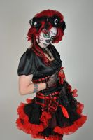 red day of the dead stock2 by The-Wild-Kat
