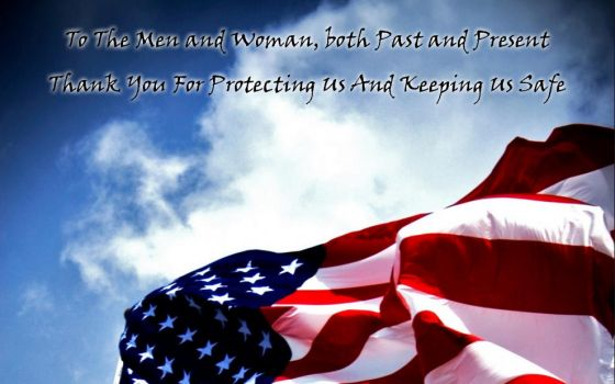 To The Men and Woman In Our Military by TDW1sGIFArchive
