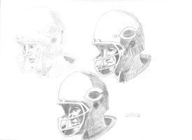 Practice: Football Player by RavenousDrake