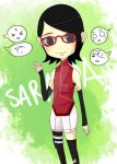 Chiibi Sarada by Hidden-Rabbit