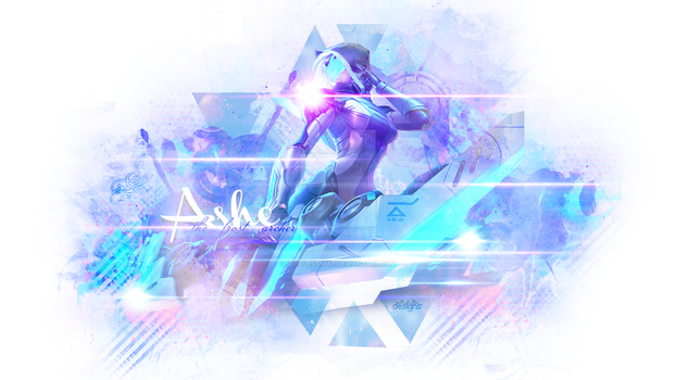 Ashe Project League of Legends Wallpaper by UniqueSanity