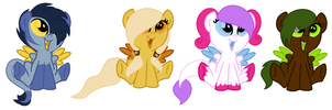 MLM (based off google images) Adopts! RE-OPENED! by PyscoSnowflake