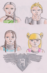 Ascension Characters (Fanart) by CrystalSabre