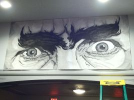 Bela Lugosi's Eyes by monsterartist