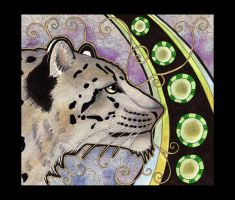 Snow Leopard as Totem by Ravenari