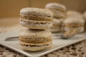 Pecan Macarons by Alice0fSpades