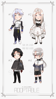 [ CLOSED ] Adopt Auction SET #2 by RNbeammer