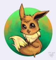 Eevee by li-jean