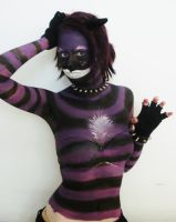 Purple cats body paint III by 04jh1911