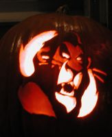 Scar on a Pumpkin by corn-elder