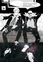 sherlock and Mr.skull by qixy06
