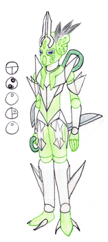Tsuru, Toa of the Constellation Grus by Color17