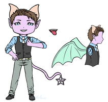 [Contest] Entry - 2 - Kage Tail male design by GriellaAnime