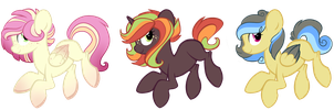 MLP Fixed Price ADOPT Batch 1-ALL GONE! YAY! by breIoom