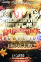 Thanksgiving Unity Jam Party Flyer by V1sualPoetry