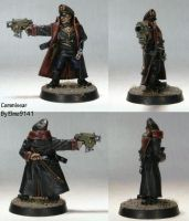 Imperial Guard Commissar by Elmo9141