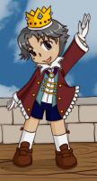 Little King Atobe by shadowpheonix64