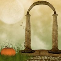 Autumn Premade Background by Junk-stock