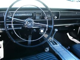 1966 Dodge Coronet 500 driver's office by RoadTripDog