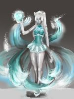 Frost Ahri by Castonia