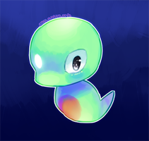 NEW POKEMON - Smol Cute Blob thing by CthulhuFruitLoops