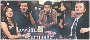 how i met your mother by xelagfx