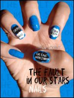 The Fault In Our Stars Nails by JawsOfKita-LoveHim