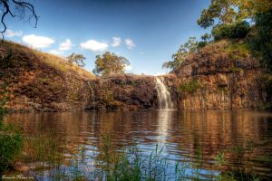 Turpin Falls HDR by DanielleMiner