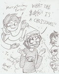 What Even Is A Christmas (for SpaceDoge) by Mister-Saturn