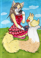 +Contest Entry- Summer Tea Party+ by angelwolf