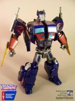 Baynimated Optimus Prime by WheelJack-S70