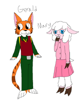 Gerald and Mary ref by Nicey1015