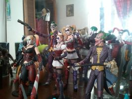 All my Batman Arkham City and Asylum Figures by yomithejester101