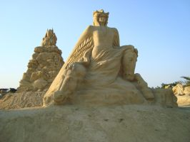 Sand art in burgas 4 by tonev