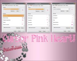 Cursors Pink Heart by StiloJuliii