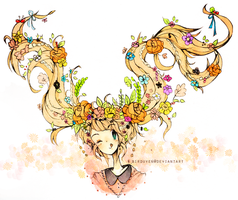 flower child by birduyen