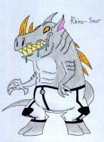 29 Rhino-Saur by JakRabbit96