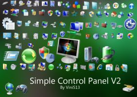 Simple Control Panel V2 by Vinis13