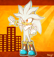 ::Silver the Hedgehog:: by bdugo7