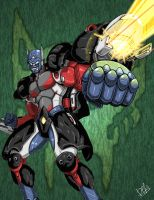 Optimus Primal by Wegons