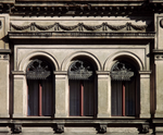 Windows and lambrequins from XIXth century by Bmoons