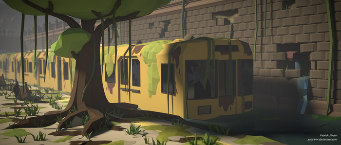 Arrival delayed (LowPoly) by pat2494