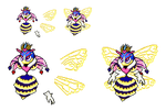 Queen Sectonia Sprite by akumath