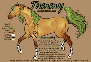 Tammy - Ref Sheet - Solven by Feathersun